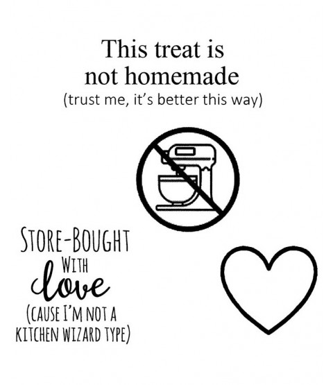 Store-Bought With Love Clear Stamp Set: 11483SC