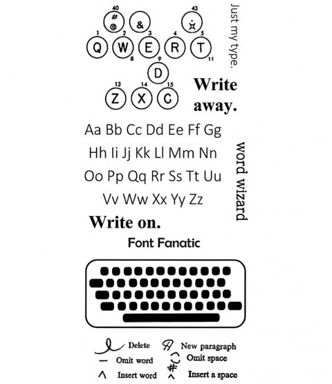 Write On Clear Stamp Set: 11487LC