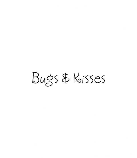 Tammy DeYoung Bugs & Kisses Wood Mount Stamp D4-2921D