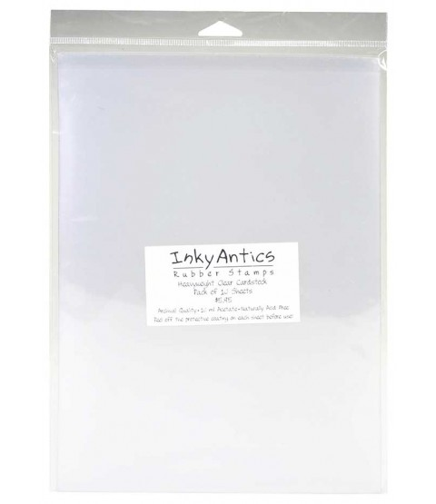 Heavyweight Clear Cardstock