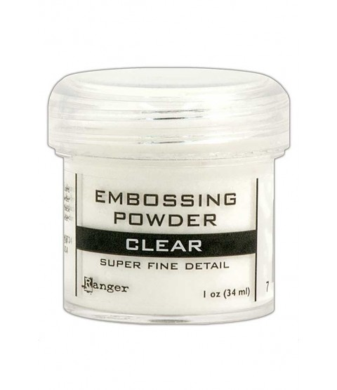 Clear Super Fine Detail Embossing Powder - EPJ37385