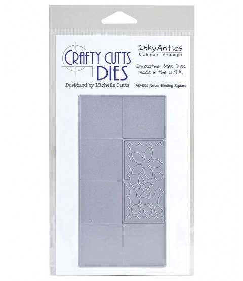Crafty Cutts Die: Never Ending Square IAD-005