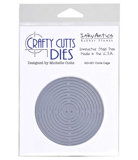 Crafty Cutts Die: Circle Cage IAD-001