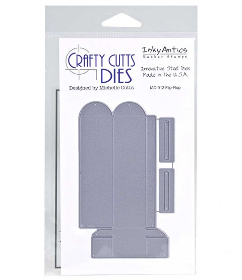 Crafty Cutts Die: Flip Flop IAD-012