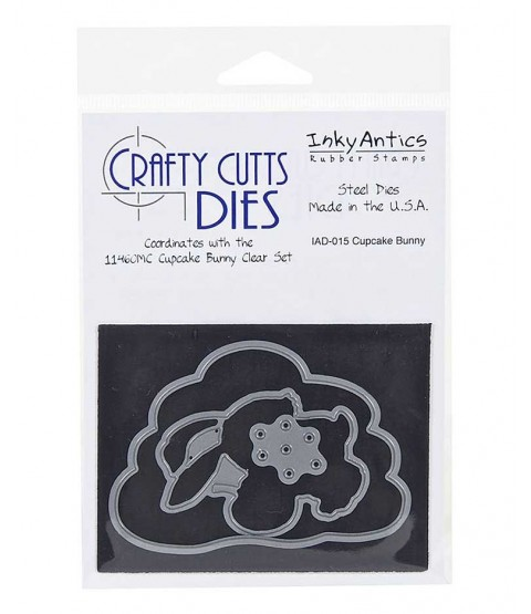 Crafty Cutts Die: Cupcake Bunny IAD-015