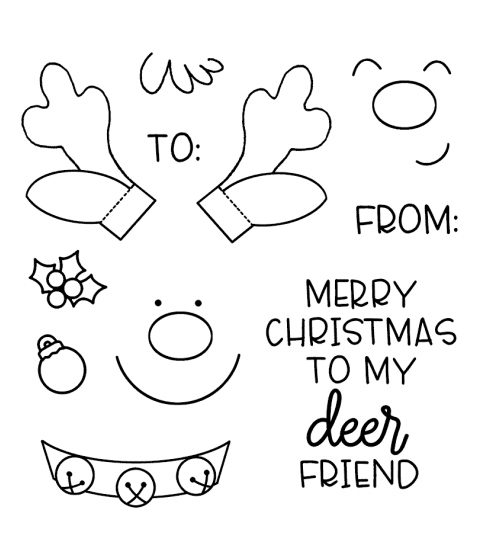 Deer Friend Clear Stamp Set 11423SC