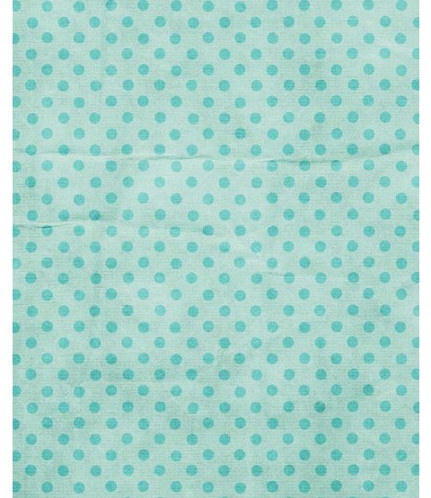 """Dotty Turquoise 8 1/2"""" x 11"""" Printed Cardstock - PAC013"""