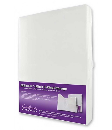 EZBinder Mini 3-Ring Storage Binder - SS20