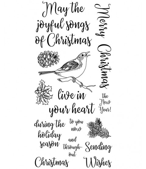 Joyful Songs Clear Stamp Set: 11468LC
