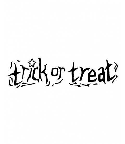 Nancy Baier Carved Trick or Treat Wood Mount Stamp E3-2251E