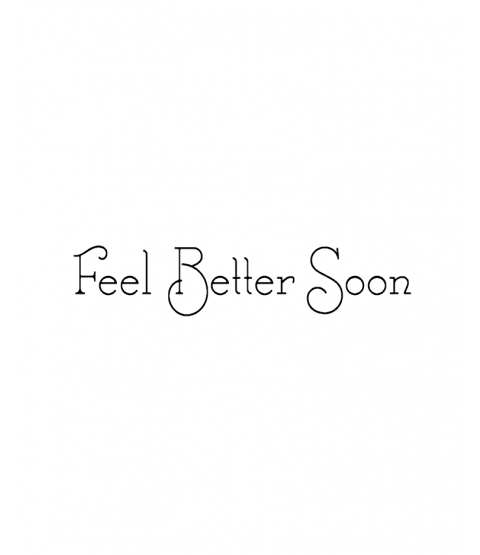 Nancy Baier Feel Better Soon Wood Mount Stamp D5-0526D