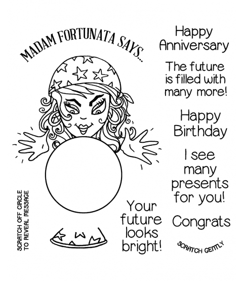 Fortune Teller Clear Stamp Set 11366SC