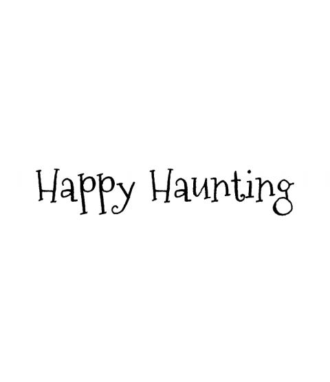 Nicola Storr Happy Haunting Wood Mount Stamp D5-5260D