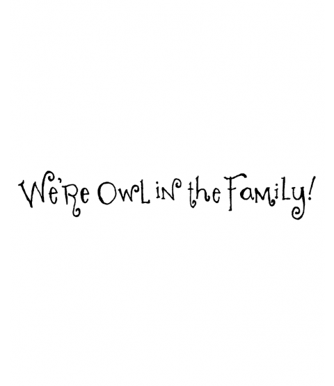 Ronnie Walter Owl in the Family Wood Mount Stamp E4-1544E
