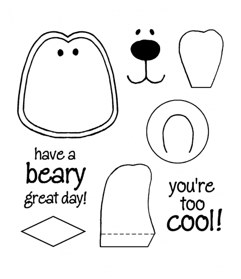 Polar Pal Maker Clear Stamp Set 10940MC