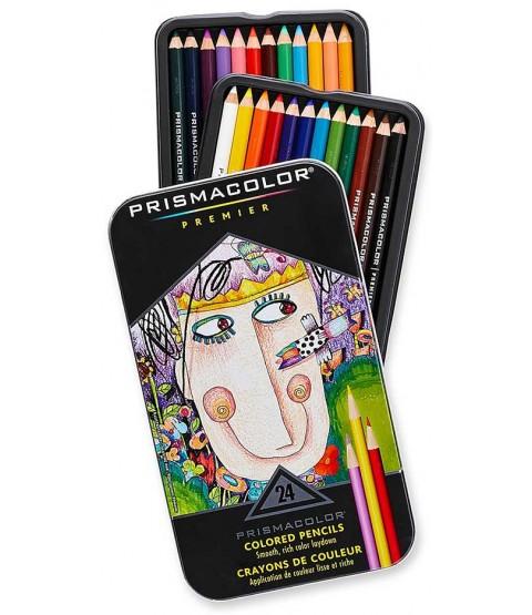 Prismacolor Premier Colored Pencils: Set of 24 - SF3597
