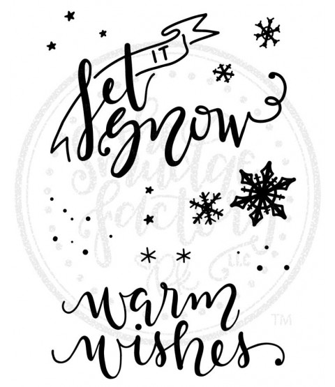 Let It Snow Stamp Set - 11394MC