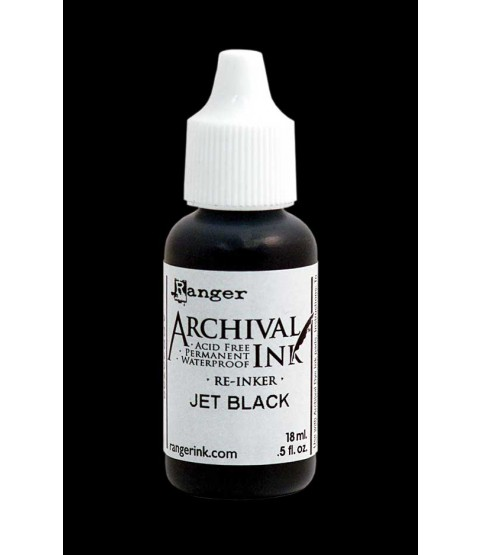 Ranger Archival Ink Re-Inker - Jet Black ARR30799