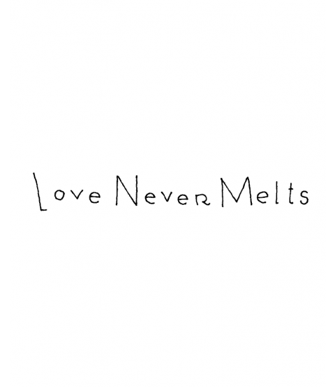 Ronnie Walter Love Never Melts Wood Mount Stamp D5-0577D