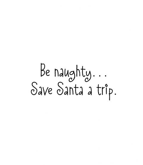 Nancye Williams Save Santa A Trip Wood Mount Stamp D4-10138D