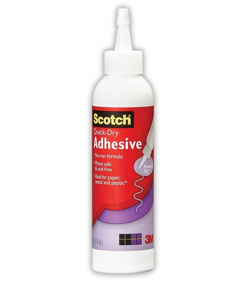 Scotch Quick-Dry Tacky Adhesive