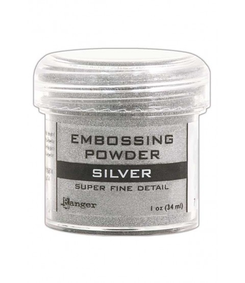 Silver Super Fine Detail Embossing Powder - EPJ37415