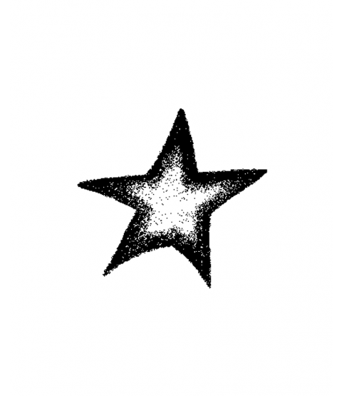 Star Wood Mount Stamp G1-10117F