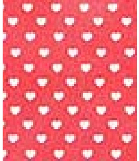 """Sweethearts Cherry 8 1/2"""" x 11"""" Printed Cardstock - PAC010"""