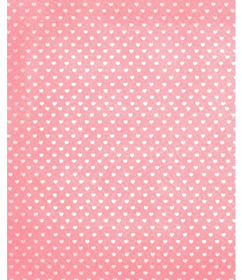 "Sweethearts Cotton Candy 8 1/2"" x 11"" Printed Cardstock - PAC011"