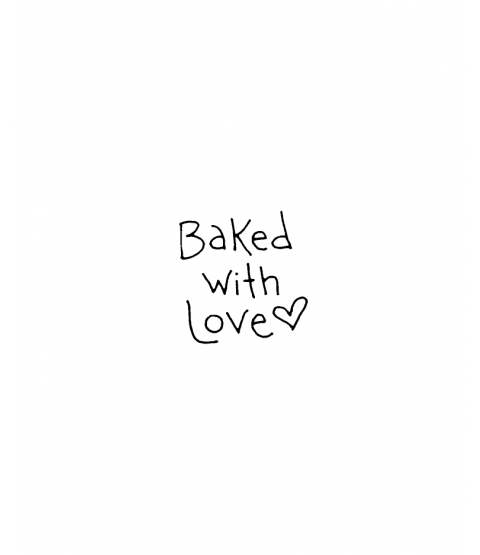 Tammy DeYoung Baked With Love Wood Mount Stamp C1-0009C
