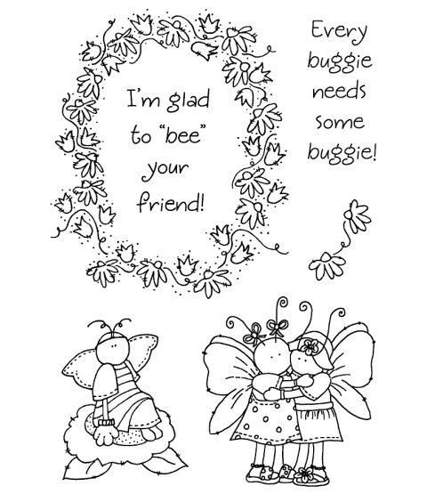 Tammy DeYoung Bumblebee Buddies Clear Stamp Set 11292MC