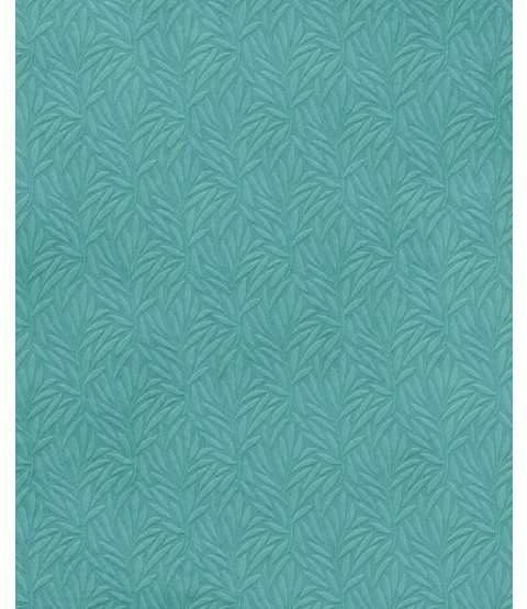 "Teal Palm Fronds 12"" x 12"" Printed Paper - PTW018"