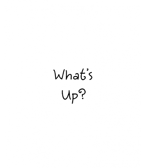 Janie Miller What's Up Wood Mount Stamp C1-0002C