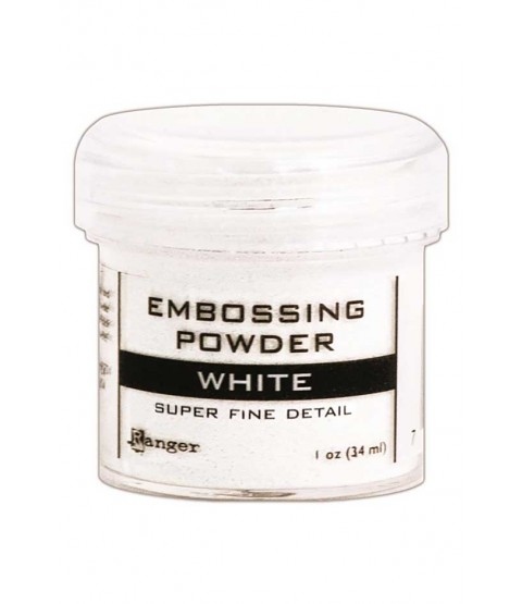 White Super Fine Detail Embossing Powder - EPJ36678