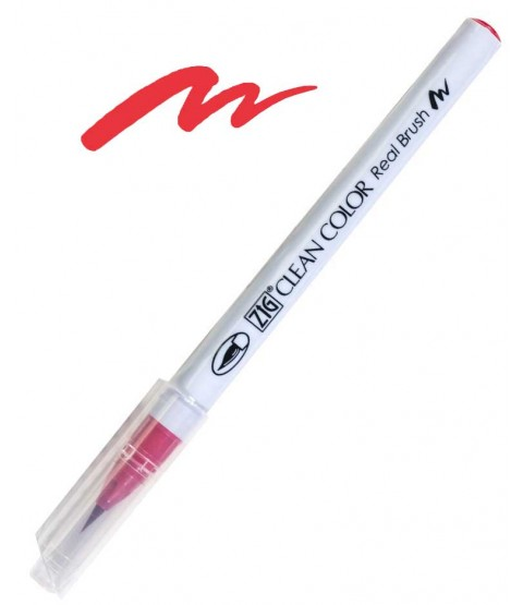 ZIG Clean Color Real Brush, Carmine Red - RB6000AT-022