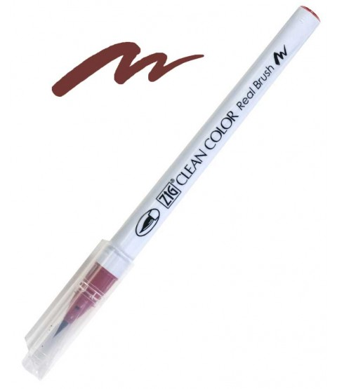 ZIG Clean Color Real Brush, Deep Red - RB6000AT-260