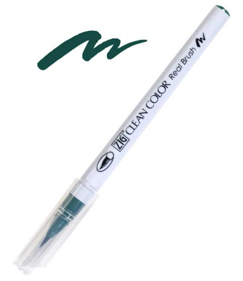ZIG Clean Color Real Brush, Marine Green - RB6000AT-400