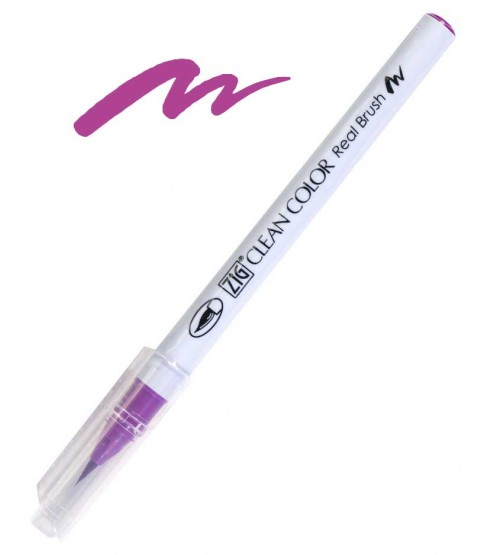 ZIG Clean Color Real Brush, Purple - RB6000AT-082