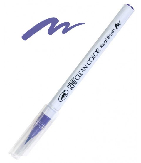 ZIG Clean Color Real Brush, Violet - RB6000AT-080
