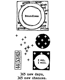 Circles & Frames Clear Stamp Set: 11429LC