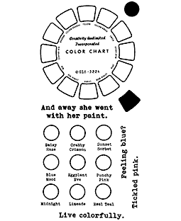 Color Wheel Clear Stamp Set: 11428LC