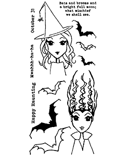 Happy Haunting Clear Stamp Set 11415LC