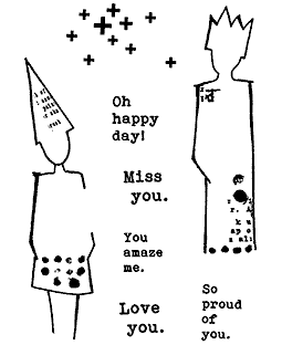 Silhouette Sentiments Clear Stamp Set: 11424MC