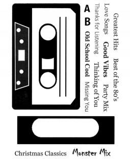 Tape Talk Clear Stamp Set: 11455MC