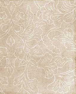 "Beige Nouveau Floral 12"" x 18"" Printed Cardstock - SPAC016"