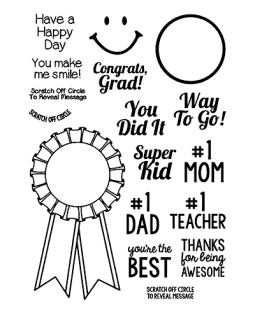 Blue Ribbon Clear Stamp Set 11375MC