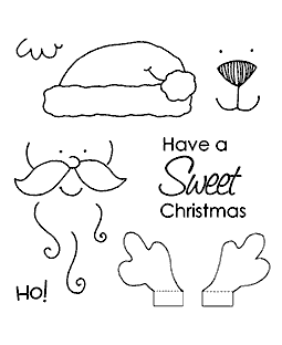 Christmas Character Maker Clear Stamp Set 10938SC