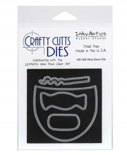 Crafty Cutts Die: Wine Down IAD-029