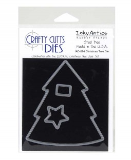 Crafty Cutts Die: Christmas Tree IAD-024