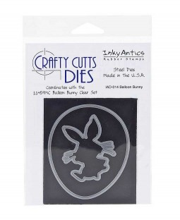 Crafty Cutts Die: Balloon Bunny IAD-014